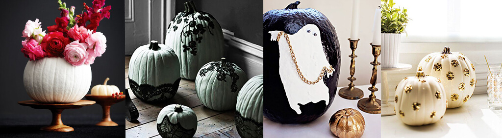 Alternative decorating ideas for pumpkins
