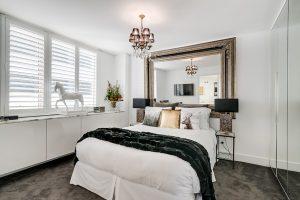 Master bedroom - Sydney interior design