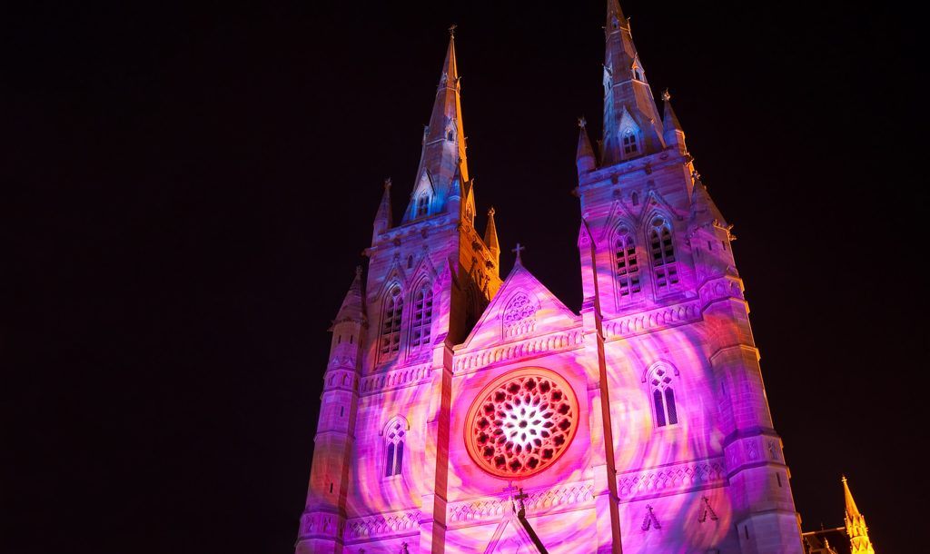 Christmas light display, Sydney