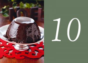 Chocolate melt dessert