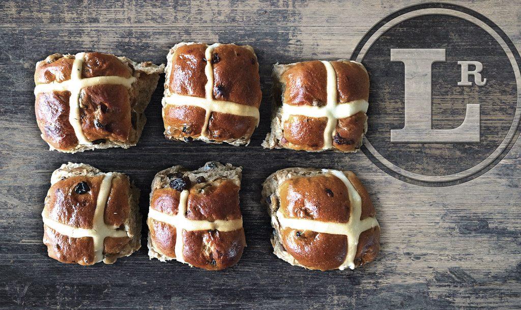 Hot cross buns in Sydney