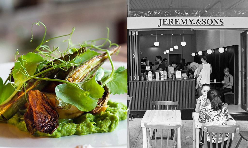 Local Potts Point businesses Farmhouse and Jeremy and Sons