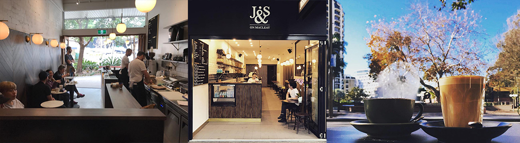 J&S Mcleay Street is situated opposite the Potts Point fountain