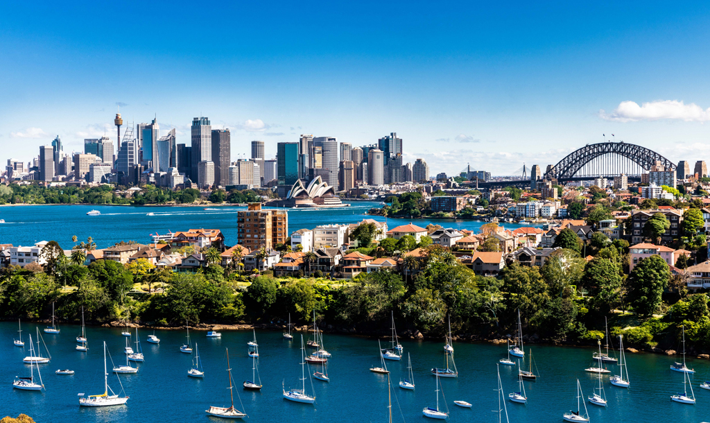 An image of Sydney harbour